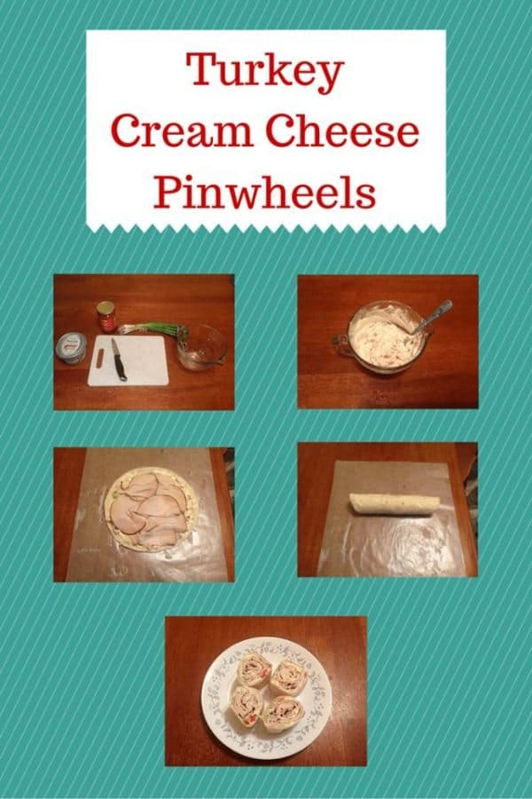 turkey cream cheese pinwheels