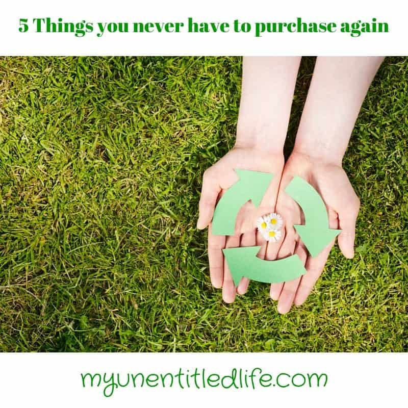 5 Things you never have to repurchase again (2)