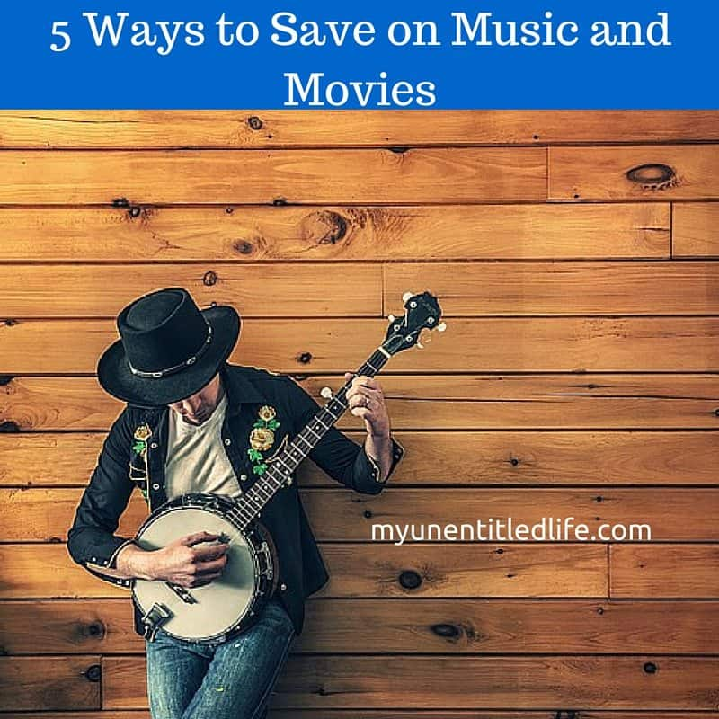 5 Ways to save on music and movies