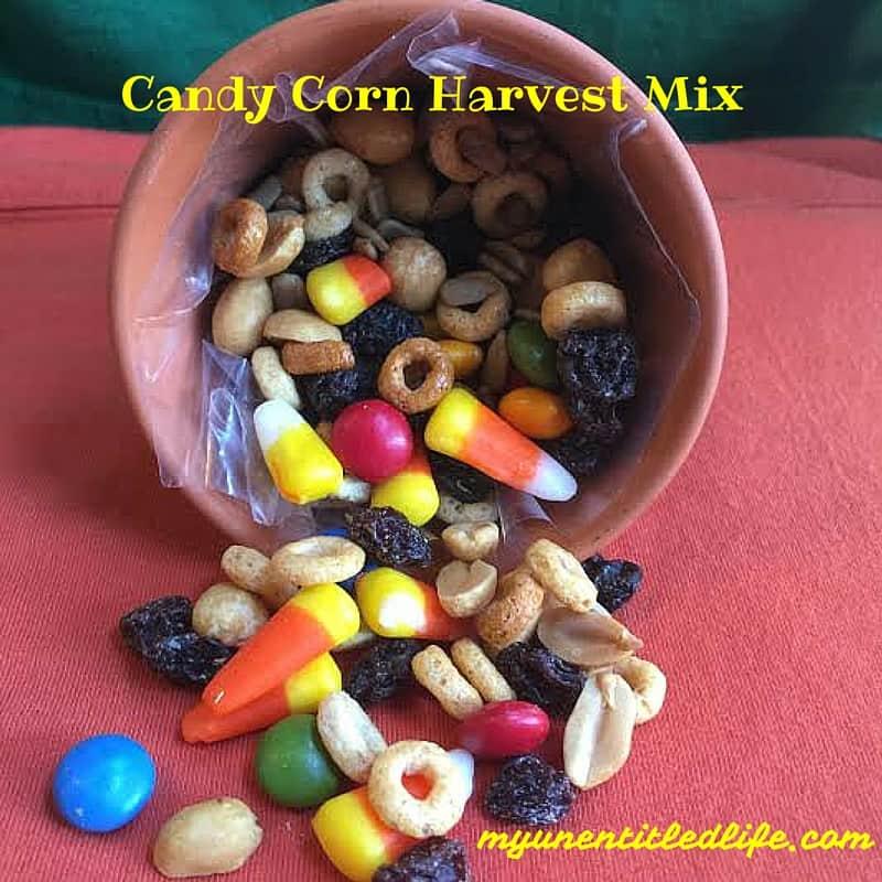 candy corn harvest trail mix recipe