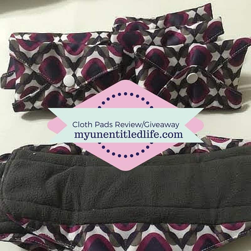 Cute Cloth Pads Giveaway