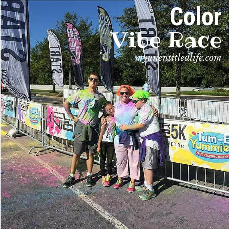 color vibe race fun