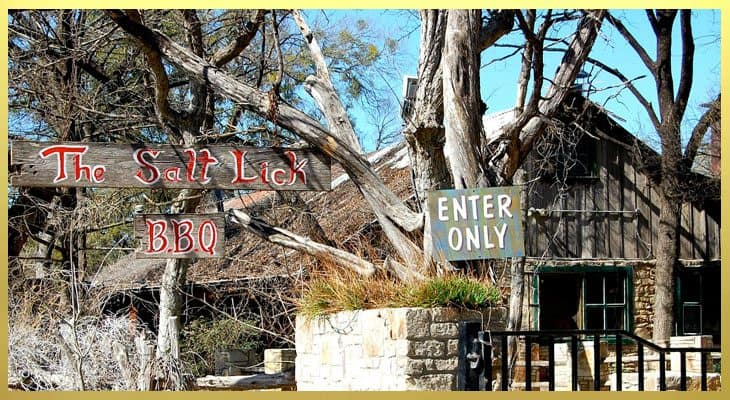 Salt Lick - 20 Things To Do In Austin -- My UnEntitled Life
