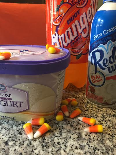 candy corn creamsicle float ingredients