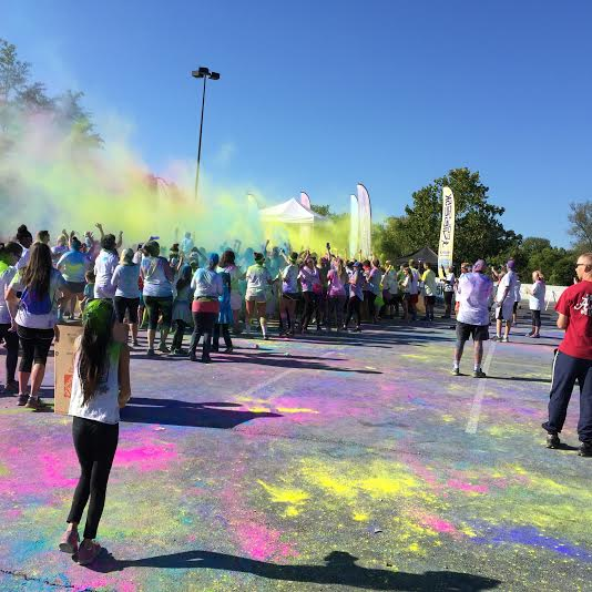 color vibe dance party