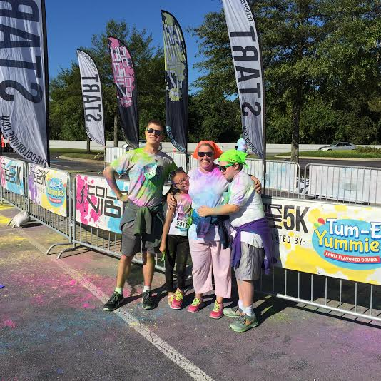 color vibe end of race!