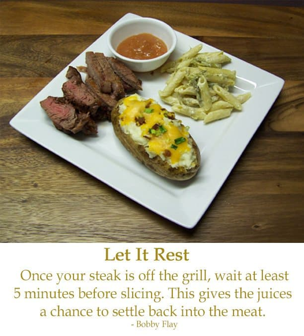let meat rest