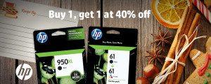 HP Sale on Ink Buy 1 get 2nd for 40% off!! #HPInk #ad