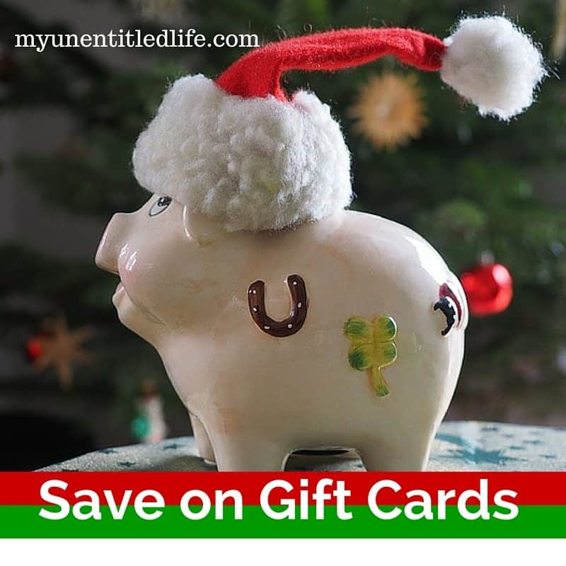 gift card savings for christmas