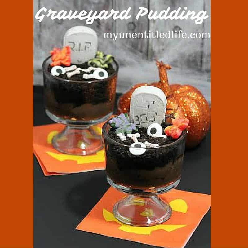 graveyard pudding recipe
