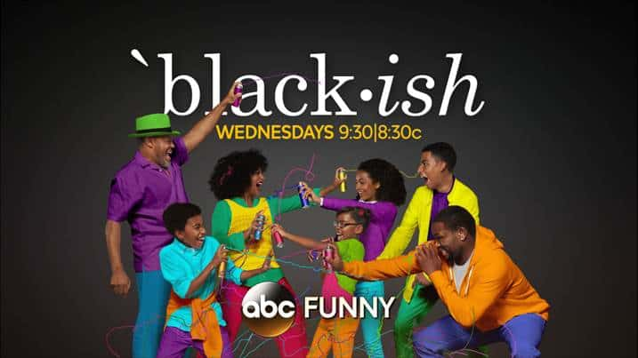 blackish tv set