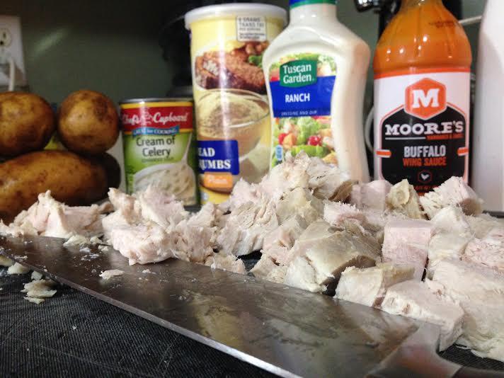 buffalo chicken casserole recipe ingredients