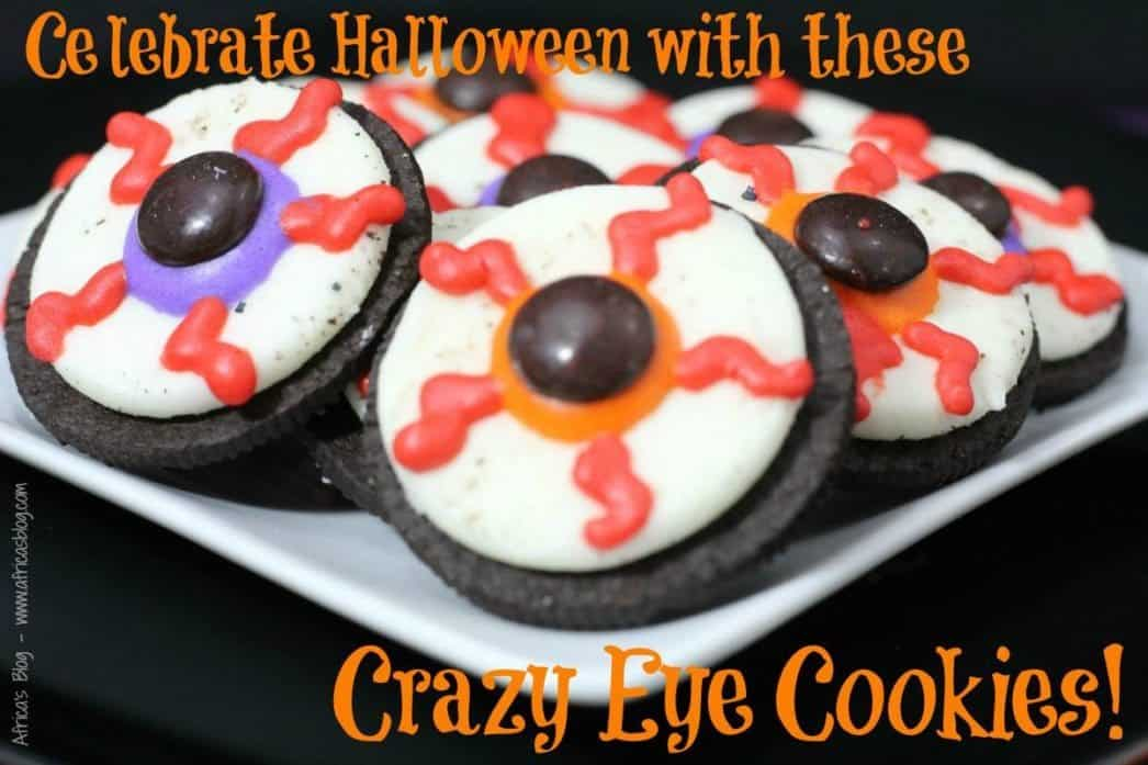 crazy eye cookies recipe for halloween food
