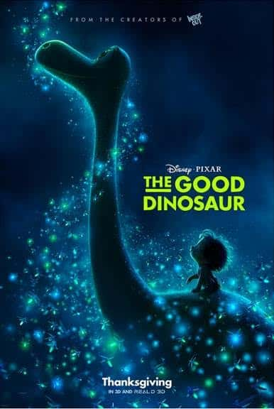 good dinosaur movie trailer and poster