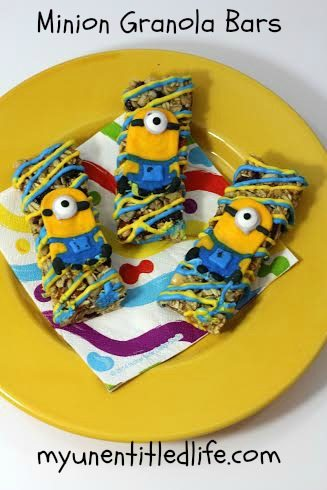 minion granola bars recipe .