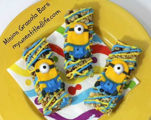 minion granola bars recipe