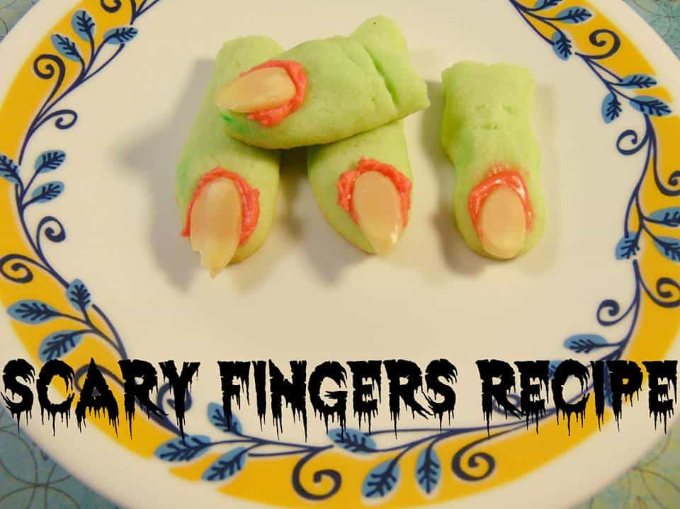 scary fingers halloween party recipe