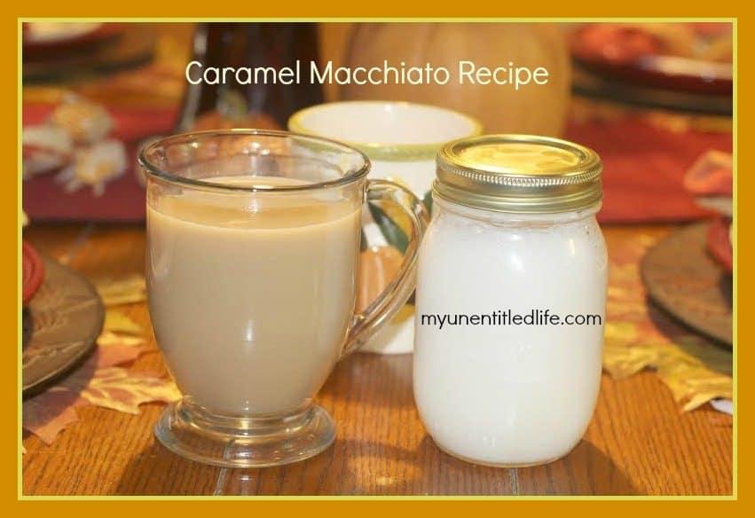 starbucks copycat caramel macchiato recipe