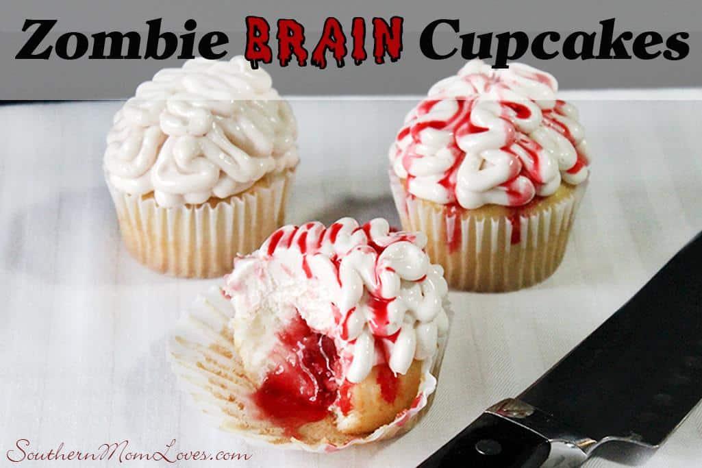zombie brain cupcakes recipe