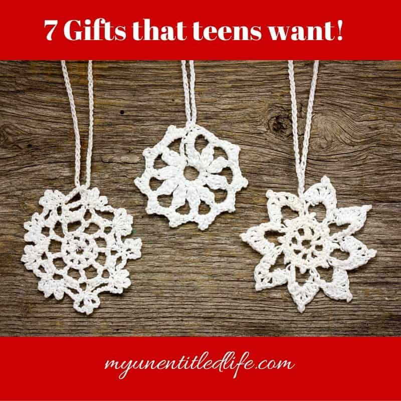 gifts that teens want for christmas