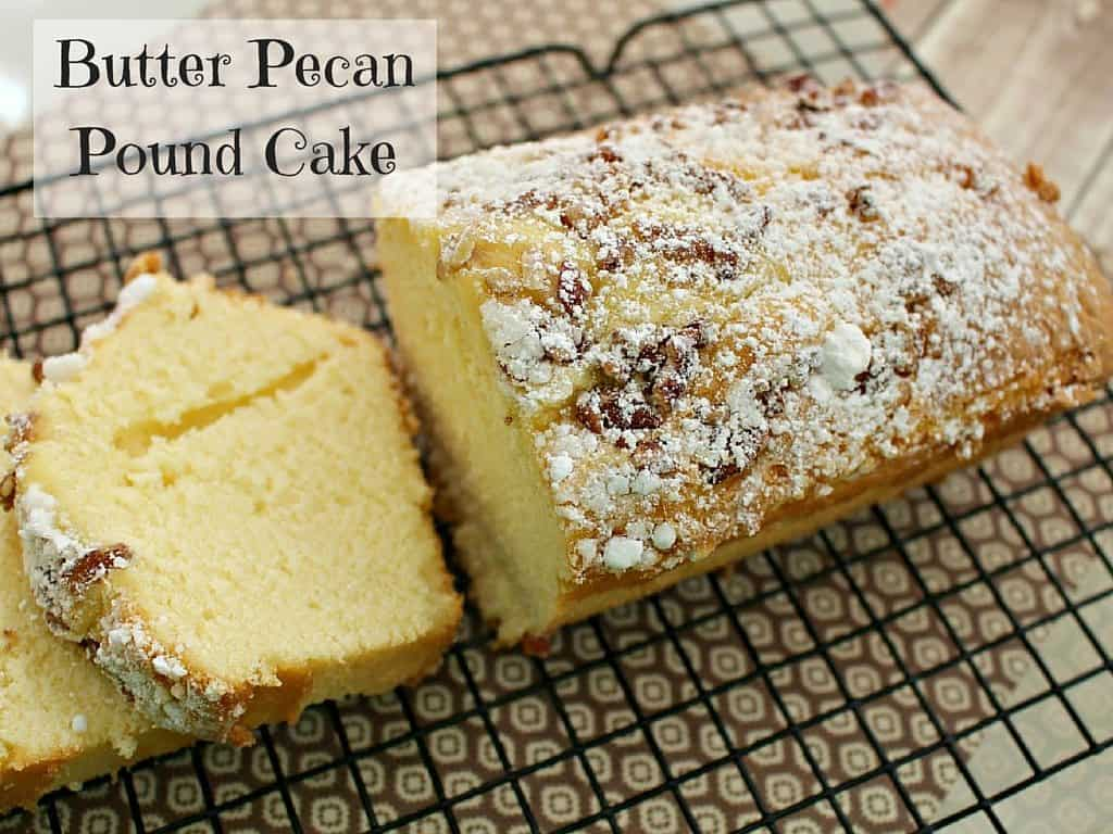 butter pecan pound cake recipe