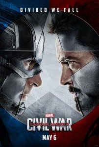 Captain America: Civil War Now Playing!