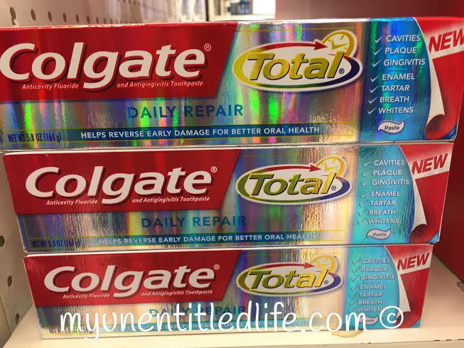 colgate total daily repair found at walmart