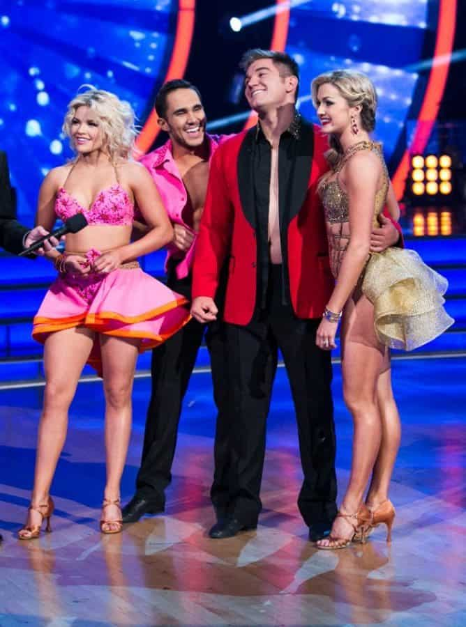 dancing with the stars carlos and alek