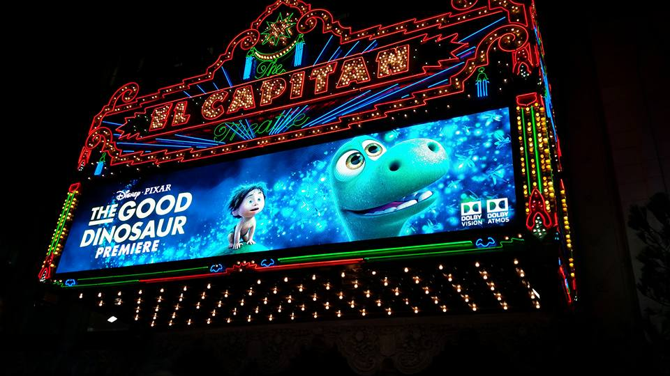 el capitan theater green dino premier
