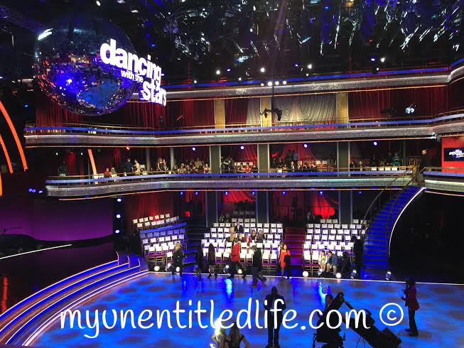 dwts getting ready