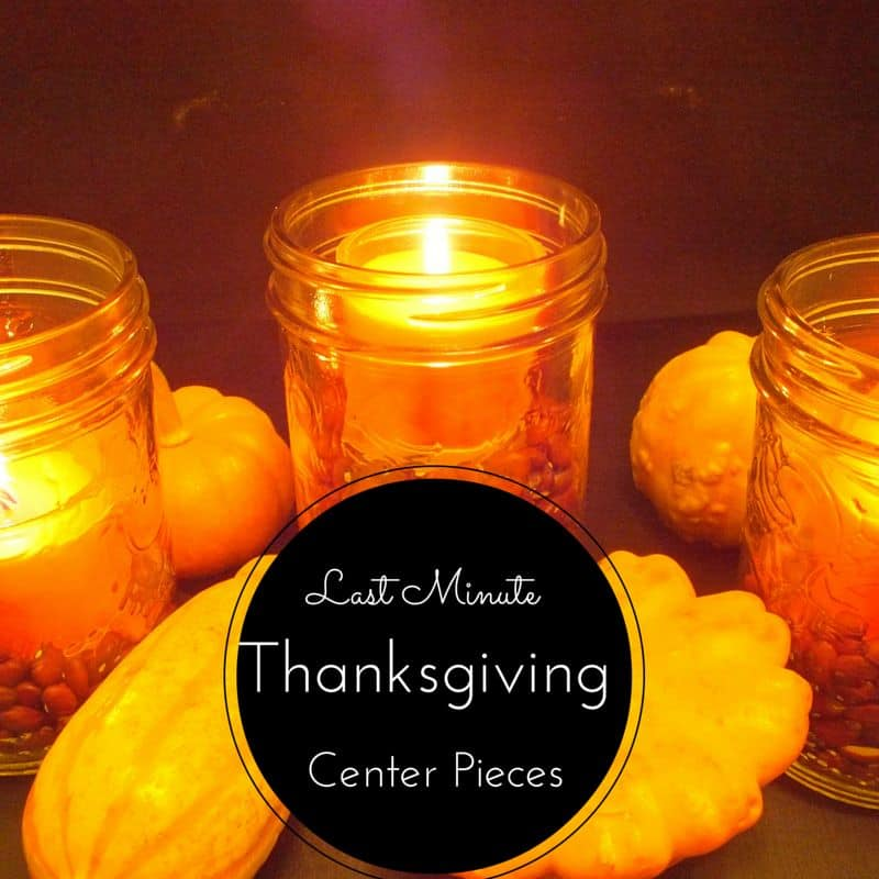 last minute centerpiece ideas for thanksgiving