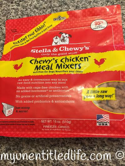 stella and chewy's meal mixins for pets