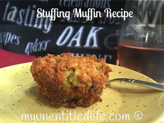 stuffing muffin recipe for thanksgiving.