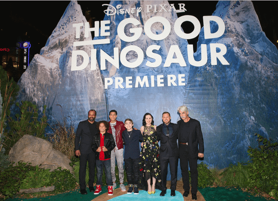 voice actors for The Good Dinosaur