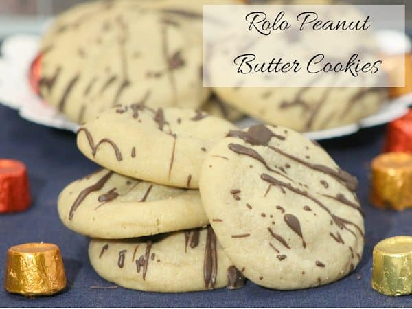 rolo peanut butter cookie recipe