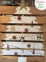christmas tree pallet diy