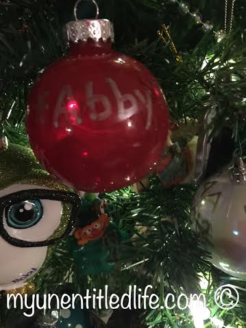 diy nail polish ornament name