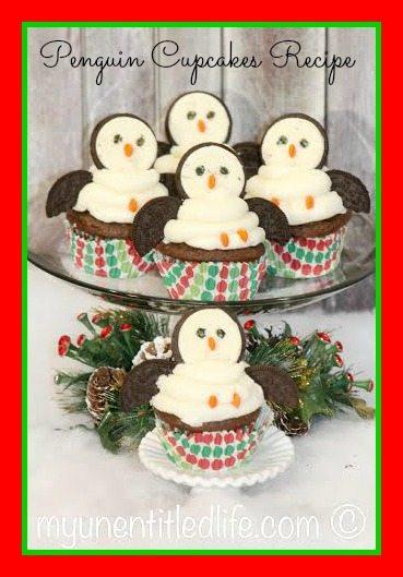 penguin cupcakes recipe
