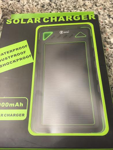zzero solar charger review