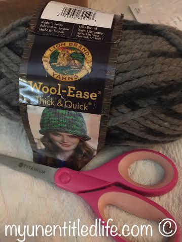 finger knitting scarves how to tutorial