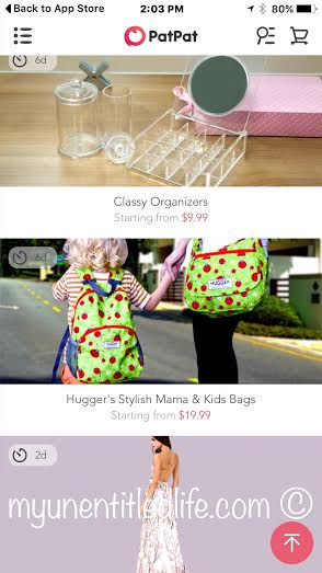dresses to home organization PatPat app keeps you in mind