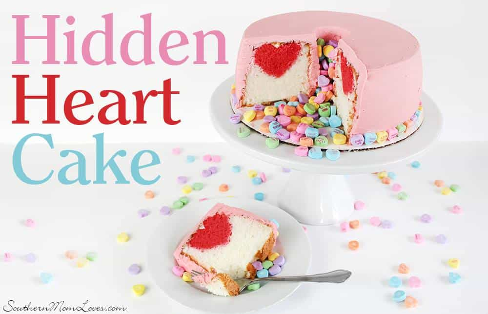 hidden heart cake recipe