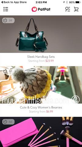 patpat app has you covered from purses to babies