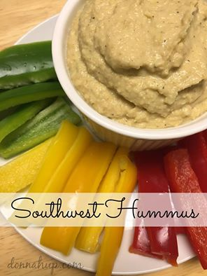 southwest hummus recipe