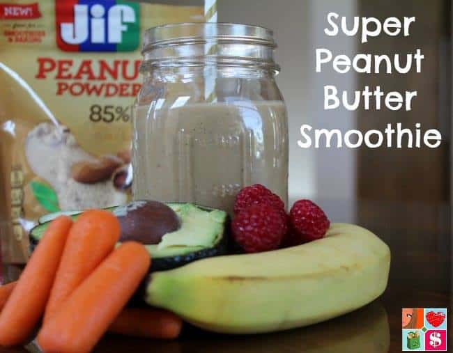 super peanut butter smoothie