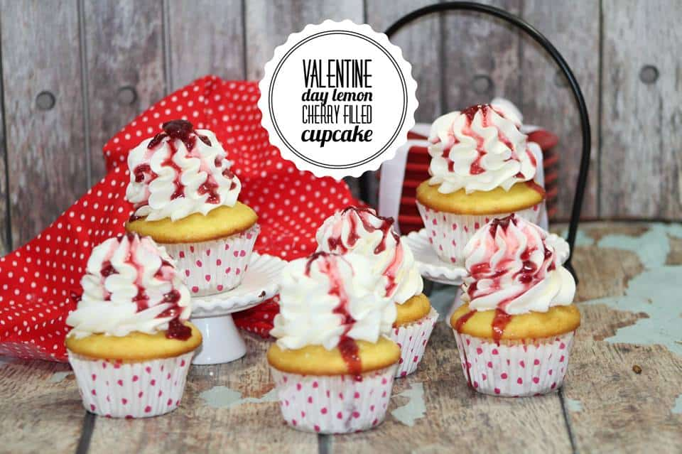 cherry lemon cupcake recipe