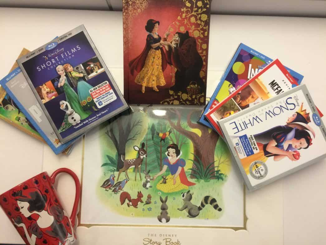 disney dvd package giveaway