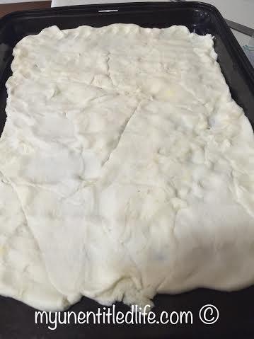 crescent rolls put together