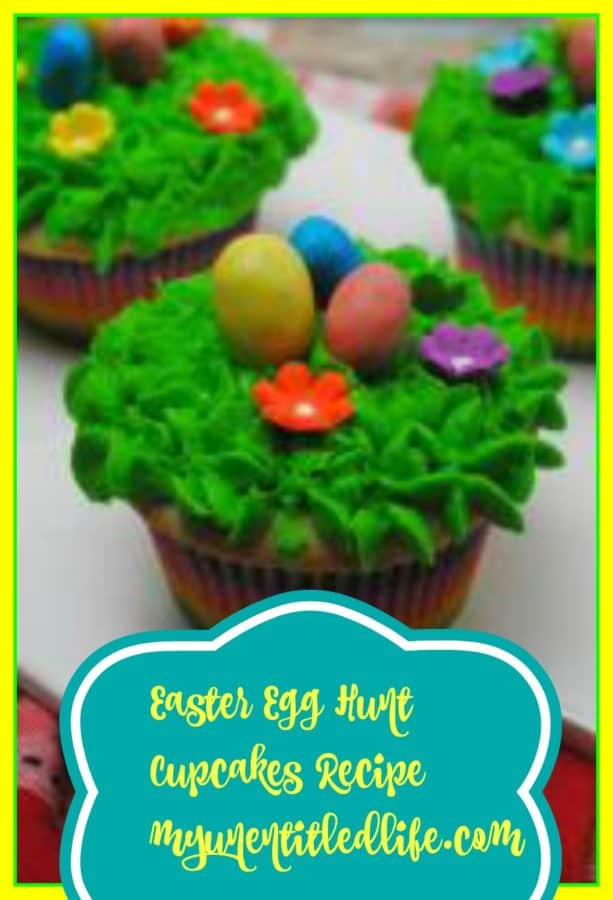easter egg hunt cupcake recipe final