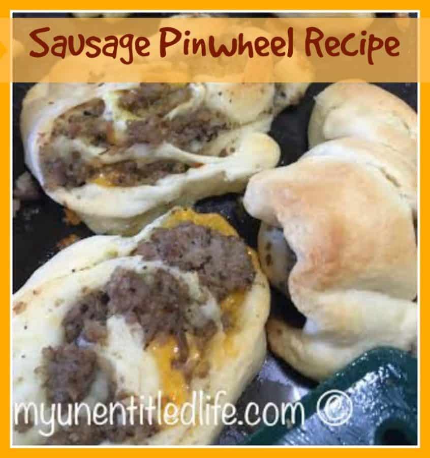 sausage pinwheels recipe